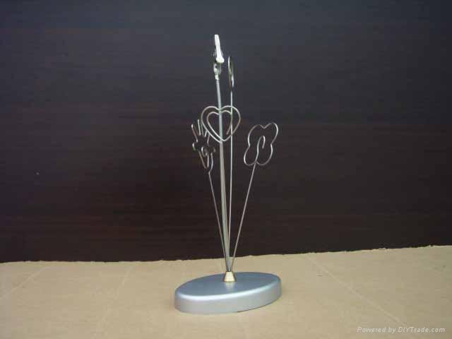 paper clip/memo holder/metal name card holder/giveway gift 2
