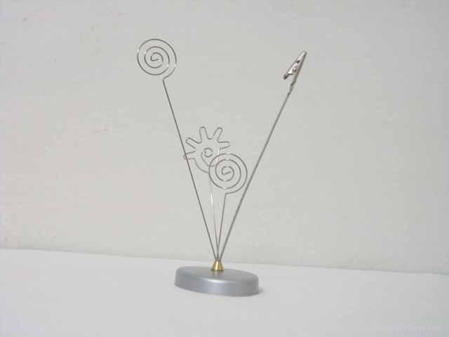 paper clip/memo holder/metal name card holder/giveway gift 5