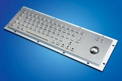 工業PC金屬鍵盤軌跡球一體機