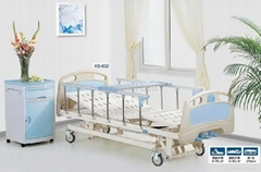 ABS Three-function Manual Medical Care Bed