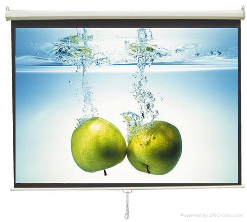 Projection screen projector screen video wall manual for Black diamond motorized screen price