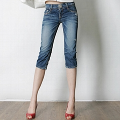SHORT LADIES JEANS