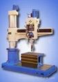 Radial drill drilling machine