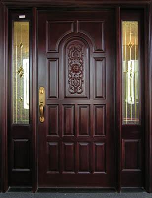OUTSIDE WOODEN DOOR DOORS