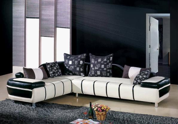 stylish living room furniture. Sofa, Leather Modern L Sharp Stylish Living Room Furniture O