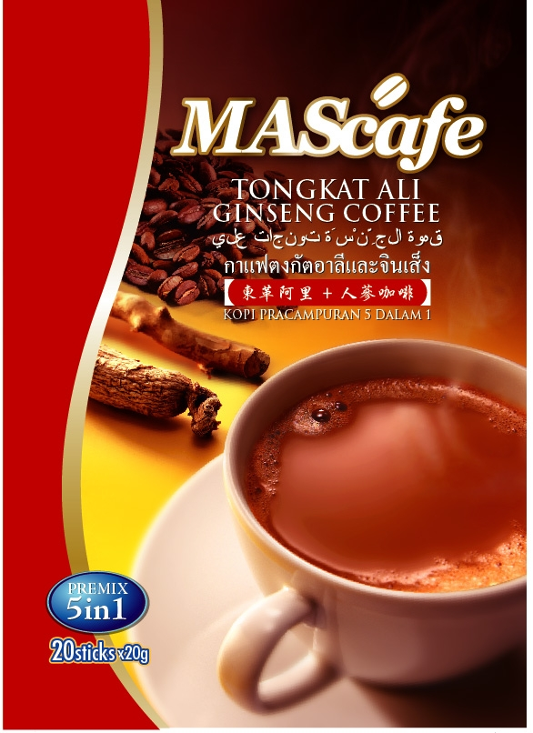 Tongkat Ali Ginseng Coffee 1