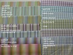 100% cotton y/d fabrics