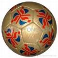 HALF PU HANDSEWN FOOTBALL 1