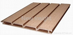 Wood plastic composite(WPC) wall