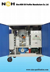 VFD-R Transformer Oil Regeneration Insulation Oil Purifier Oil Filtration Machin