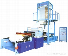High Speed HDPE/LDPE/LLDPE Film Blowing Machine