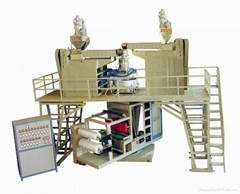 Downward Blowing Machine and Three layer Water cooled PP Film Blowing Machine