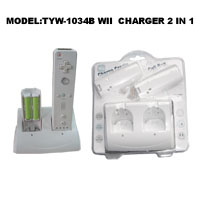 WII charger 2 in1 (charge cradle and cell box)