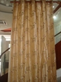 taffeta P/D embroidery ready-made curtain