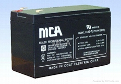 12V7AH Lead-Acid Battery (VRLA)