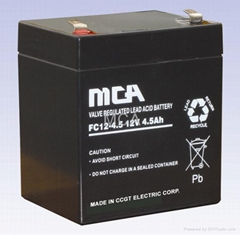 12V 4.5AH Lead-Acid Battery (VRLA)