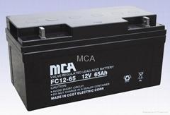 12V65AH Lead-Acid Battery (VRLA)