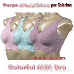 Colorful AHH Bra