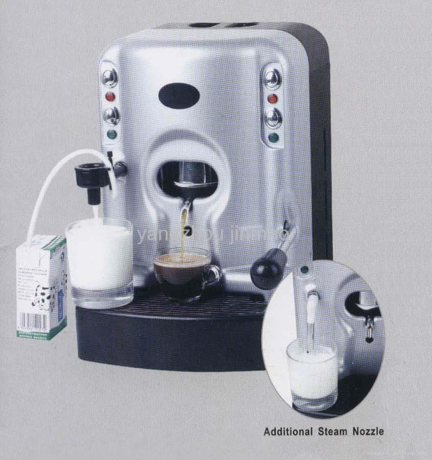 Espresso & Cappuccino Coffee Machine & Hot Water Dispenser & Milk Frother - Sk-205A - OEM (China ...