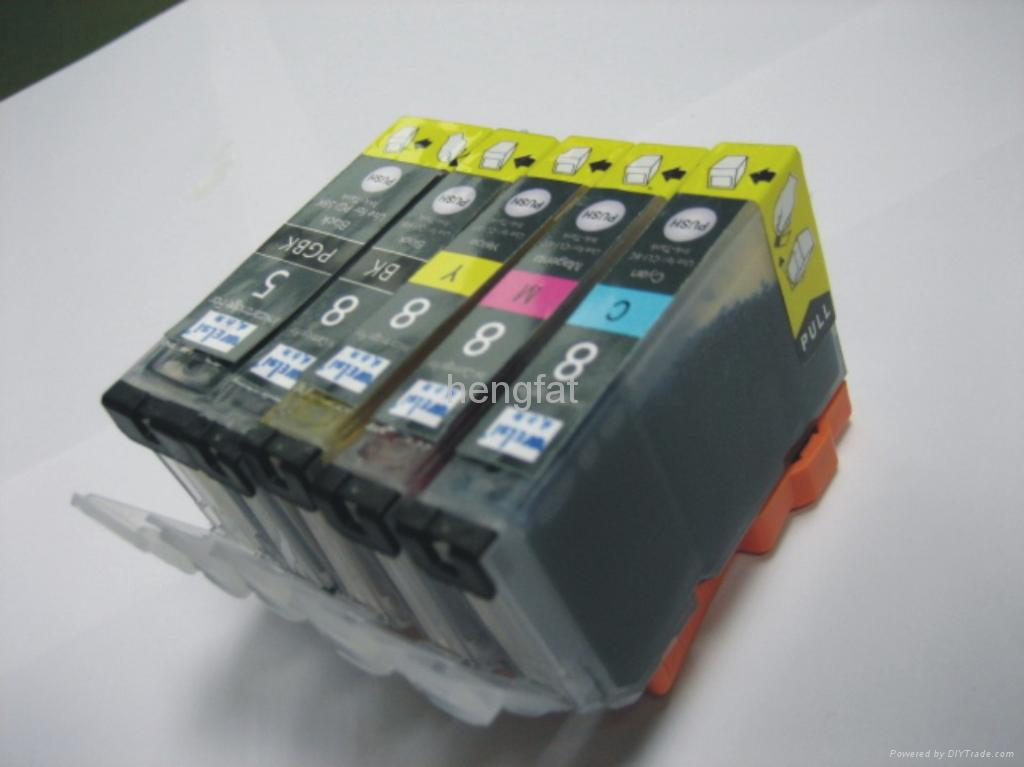 Ink Cartridge for Canon CLI-8 (Compatible with chip)