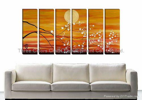 Sell home decorations abstract paintings 3c d001 for How to sell home decor online