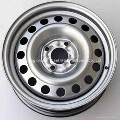 13'' steel wheel