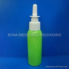 100ml PET Bottle with Nasal Sprayers