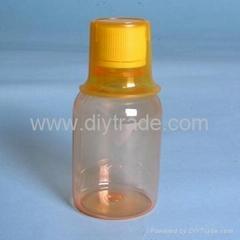 PET棕色口服液瓶