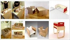 实木书架,酒架,婴儿床