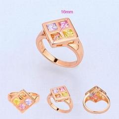 时尚饰品,流行饰品,工艺饰品,仿真饰品,旭平玫瑰金戒指