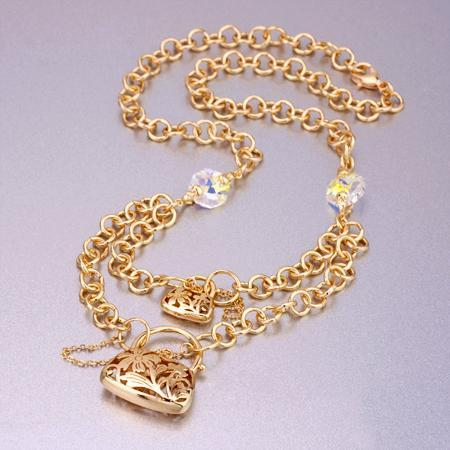 how to clean gold plated brass jewelry