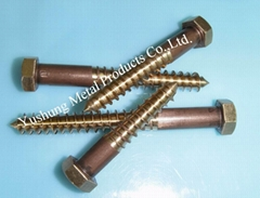 C6500 High Silicon Bronze Lag Bolts
