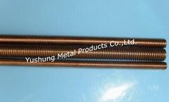 Silicon Bronze Threaded Rod M8x1.25x1m / 2m