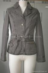 ladies jacket,fashion jacket, women's jacket