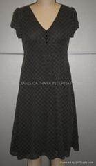 ladies dress,women's dress,polyester dress