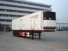 Refrigerated semi trailer,reefer trailer