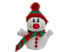 plush chrismas toy-snowman