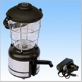 12/16 bright led camping lantern with compass 1