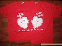 情侣T恤、全家福、亲子装、情侣抱枕、文化衫-广告衫-空白T恤