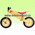 wooden training bike 1