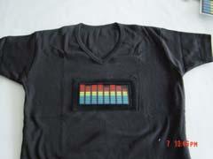 声控发光T-shirt