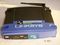 Linksys Wireless Router with ADSL Modem