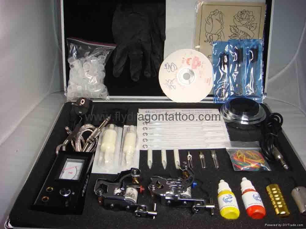 Tattoo Kit's 2 Gun's+ink