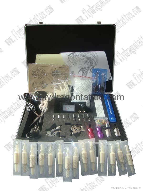25 Pack of Sterile Disposable Tattoo Tubes and Needles tattoo kit 2 machine