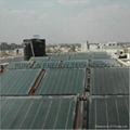 Flat Plat solar collector project