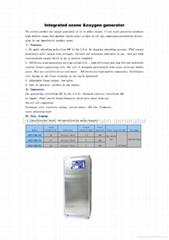 Integrated ozone &oxygen generator