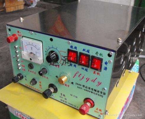 电鱼接线和使用方法