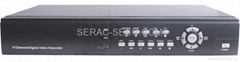 9ch MPEG-4 Standalone DVR,with VGA,Network,USB port