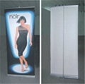 exhibition equipment display stand roll screen