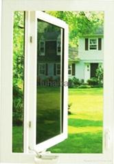 upvc crank casement window with screen